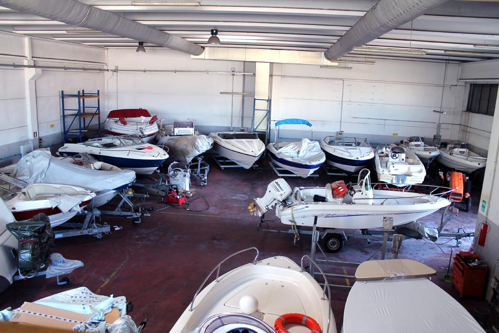 Boot Caravan Halle Gardasee